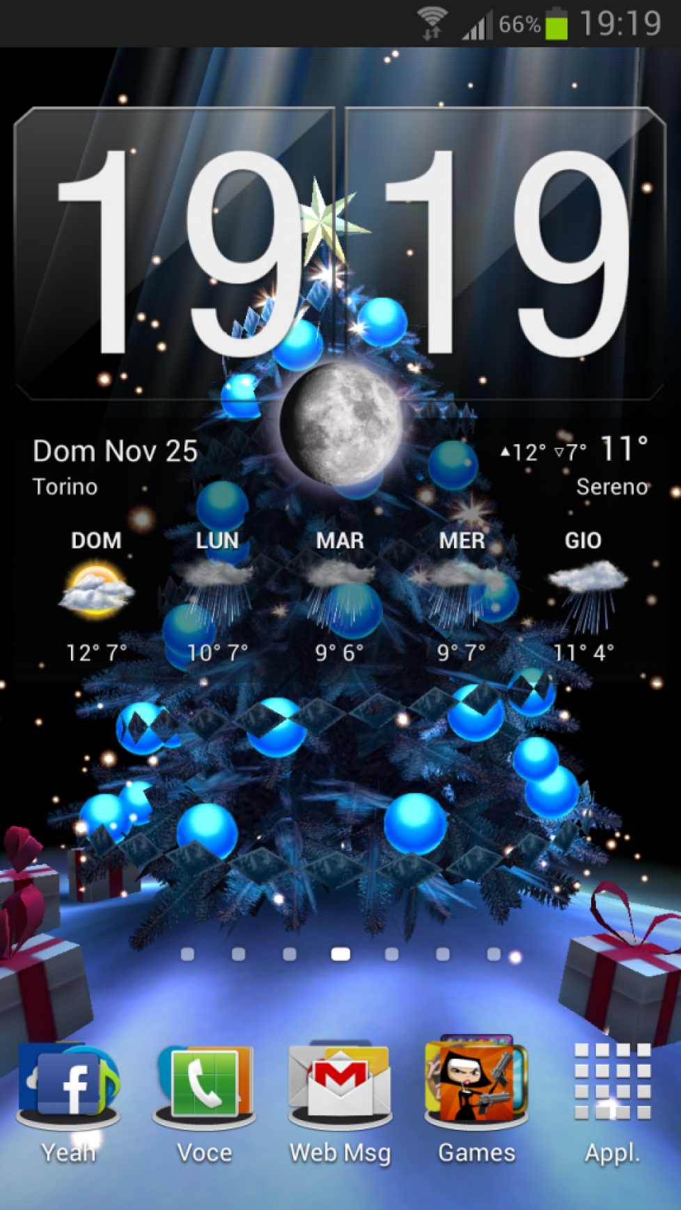 Christmastime on my GS3